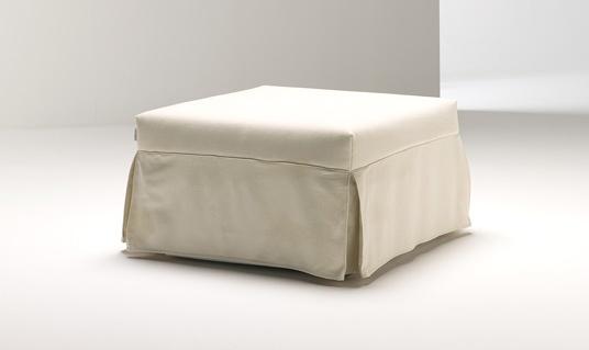 il pouf che si trasforma in un letto