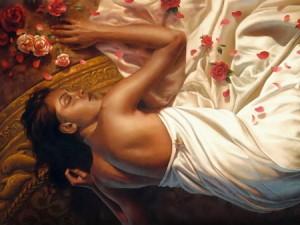 sleep-rose